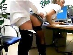 skutečná sekretářka šuká šéf amatér