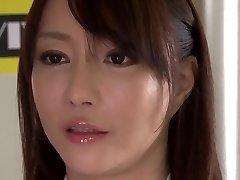 Šílený Japonský model Kotone Kuroki v Neuvěřitelné velká prsa, rimming JAV film