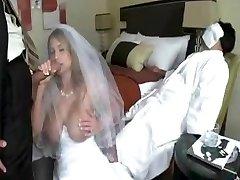 man fuck bride while grooms didn't awake