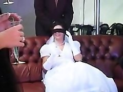 New Bride Pummeled By Multiple Beefsticks