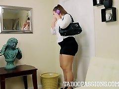 Taboo Passions - COUGAR Mom Madsin Lee gets Facial Cumshot