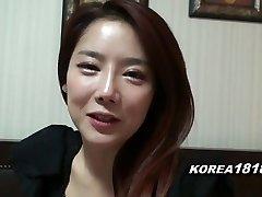 KOREA1818.COM - Super-steamy Korean Girl Filmed for Fuck-fest
