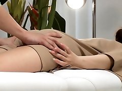 Asian Hardcore Ass-fuck massage and penetration
