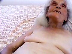 youthfull stud pounding the oldest slut on the internet
