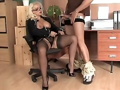 LL office nylon Deep Throat
