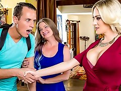 Blake Morgan & Justin Hunt in My Mom's Finest Pal - DigitalPlayground