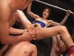 Crazy homemade BDSM, Fetish porno scene