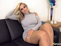 UK MILF with blondie hair Kellie OBrian is always prepared to demonstrate donk