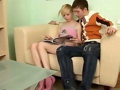 Russian blondie teen Alisa