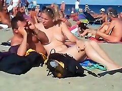 voyeur swinger beach romp