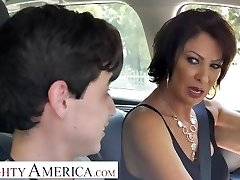 Naughty America Vanessa Videl instructs Juan how to take care of a girl