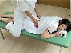 Gorgeous Jap gets screwed in horny spy cam massage clip