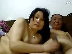 Daddy Chinese Fucky-fucky with his Wife1