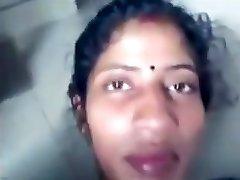 Desi Tamil wifey Sandhya love tunnel driiled