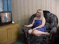 Strange Russian Blondie fuckin