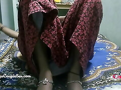 desi telugu indian village couple wife naked pulverized on floor