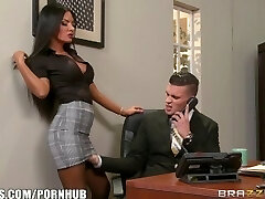 Brazzers - Elicia Solis gets some office nailing