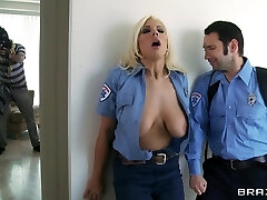 Big Mammories In Uniform: Emergency Call