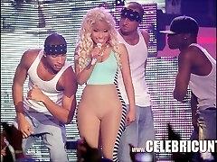 Ebony Celeb Nicki Minaj Exposed Sugary-sweet Mammories And Cumshot Selfie