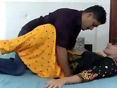 Indian hindi stepsister dry hookup with stepbrother (Hindi )