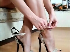 Perfect MILF feet from IG stilettos toes arches