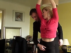Mature uk sub gets manacled and dominated over