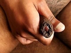 Up Close With My Uncut Manmeat & Cum