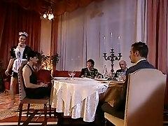 Hot italian maid