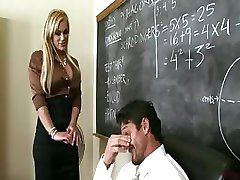 Busty Teacher Shyla Stylez Provides Tutoring