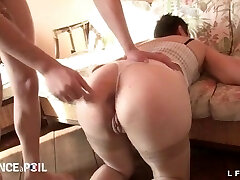 Mischievous french mature hard pounded and fisted
