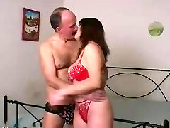 young wifey with father in law home alone