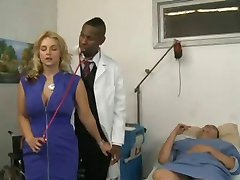 Blonde fuck her doctor