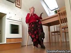 Old widow services 2 repairmen