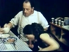 Father and His Step Daughter Begin To Live Together - Old School Taboo
