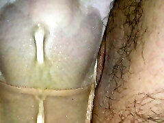 Wetting Two pairs of panties on the beach