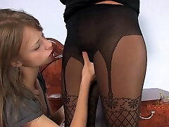 Pink Surprise. Part 1 of Four. A Molten Blonde Comes Home To Find