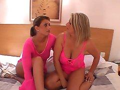 two women bukkake