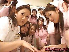 Asian nurses enjoy sex on top part6
