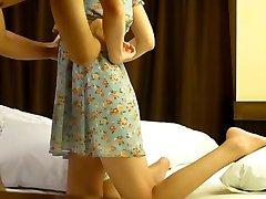 Korean b-list model prostitution caught on hidden cam 9a