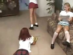old vid of 3 girls in panties