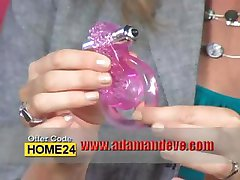 Adam and Eve TV Commercial Show For Him and For Her Couple's Enhancer Ring Vibrator