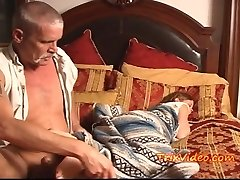 Teen Baby Sitter USED by OLD MAN