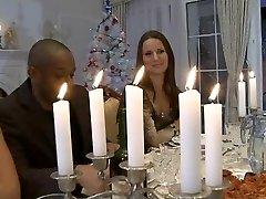 Hardcore Christmas dinner bang-out