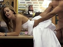 Blondie In Her Wedding Dress Doggsytyled In Pawn Shop