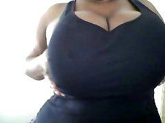 Big Tits Play.. I Love her delish Breasts