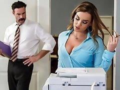 Natasha Uber-cute & Charles Dera in Office Initiation - Brazzers