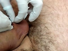 Piercing of the nut