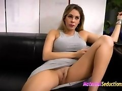 Mom Wants her sons-in-law Dick