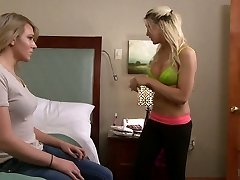 Romantic ladyboy Aspen Brooks gets her anus wedged and jacks off her own salami