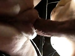 Squirting pussy with yam-sized lips getting poked